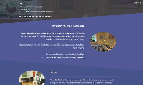 screenshot for Bed and Breakfast Randers